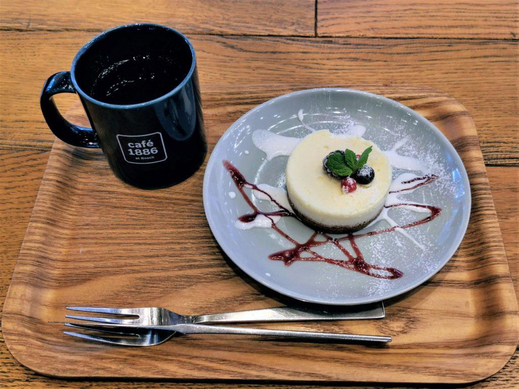 渋谷【café 1886 at Bosch】チーズケーキ