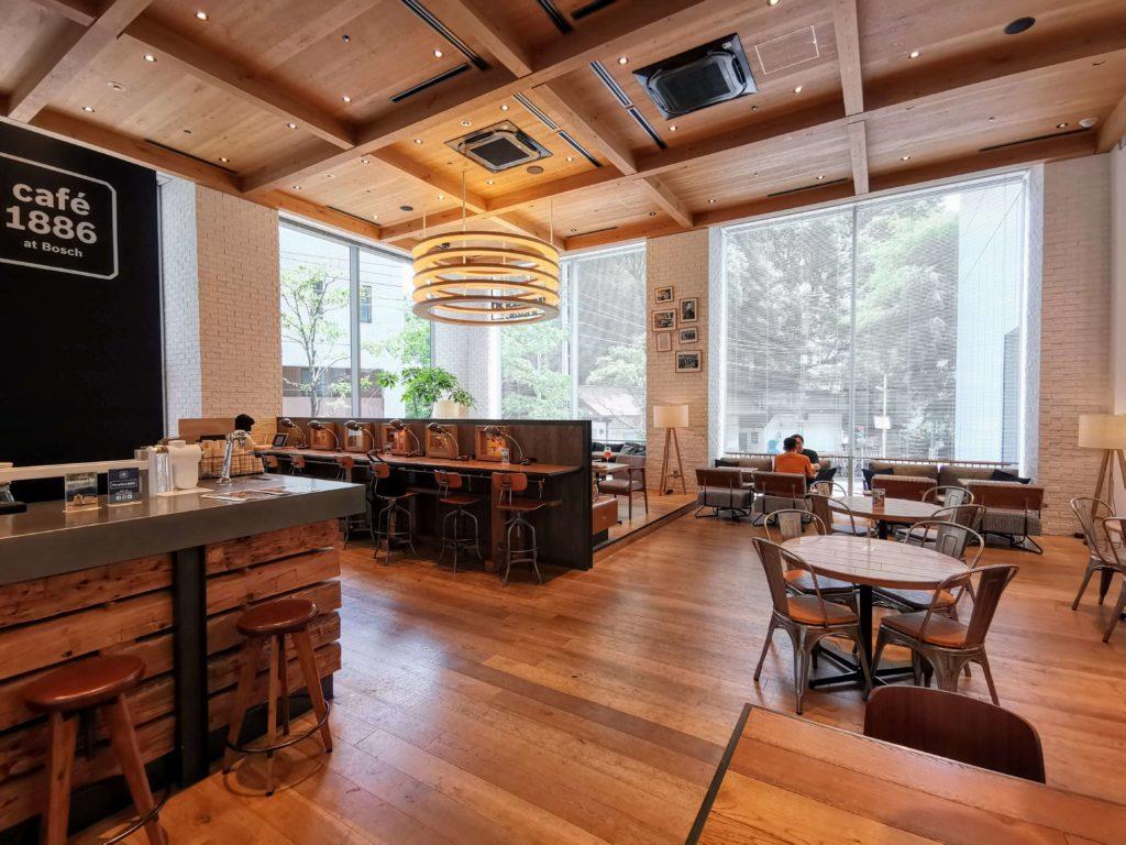 渋谷【café 1886 at Bosch】店内