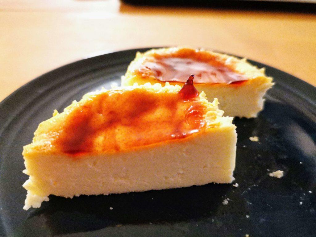 ミニストップ・ドンレミー バスクチーズケーキ (11)