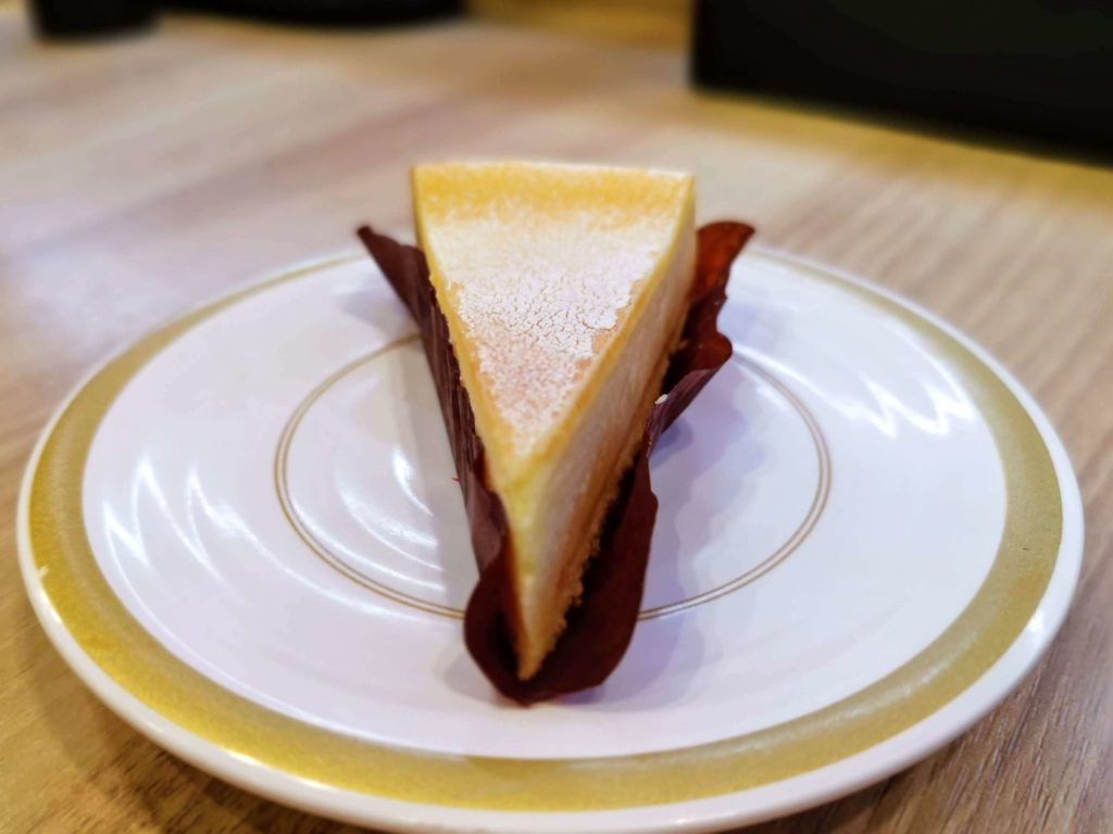 かっぱ寿司 チーズケーキ (5)