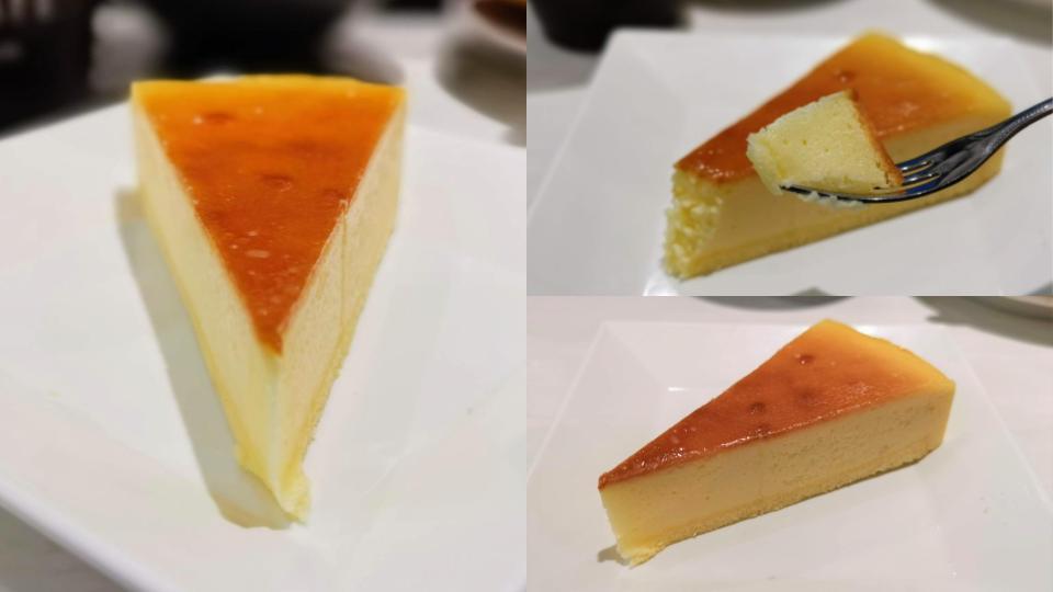 魚べい レモンベイクドチーズケーキ