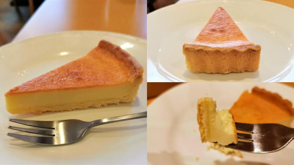 ガスト ベイクドチーズケーキ (4)