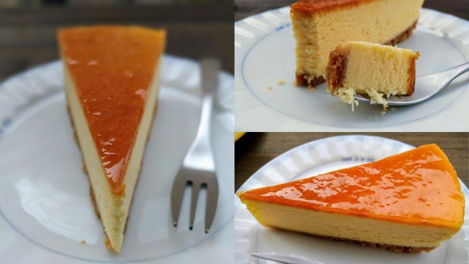 自由が丘プラスのベイクドチーズケーキ