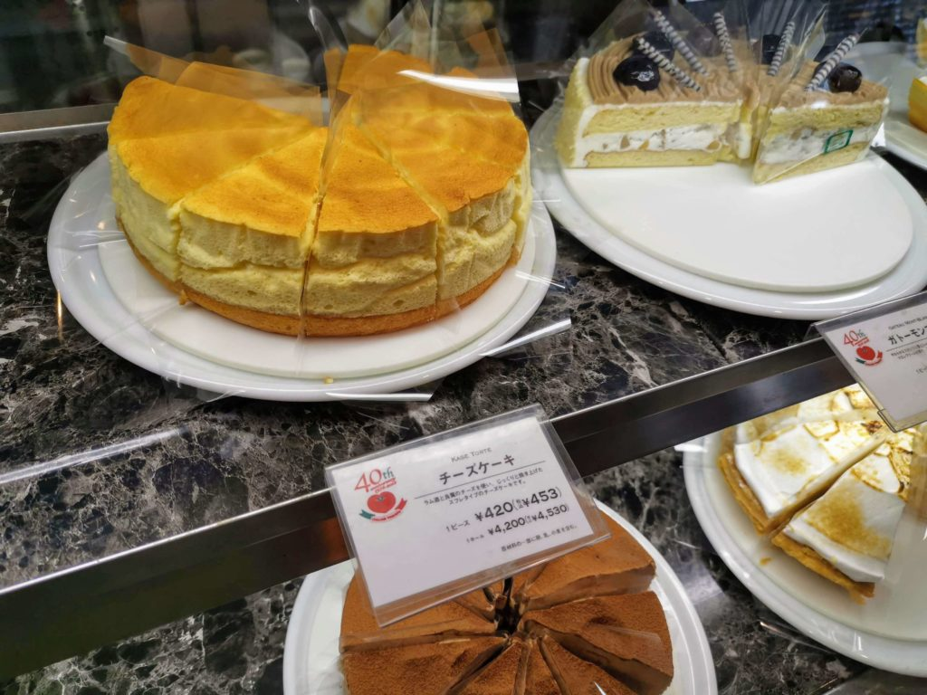 カフェスペリオーレ 中野サンプラザ店 チーズケーキ (4)