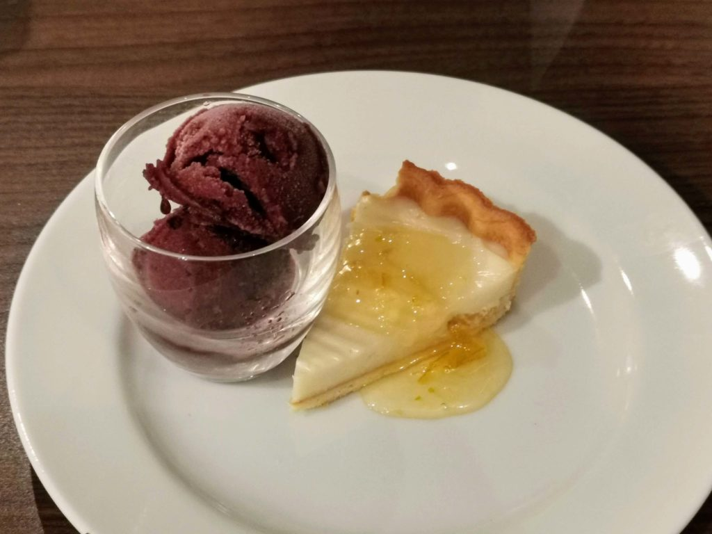 サンマルクレストラン 柚子風味のチーズタルト (3)