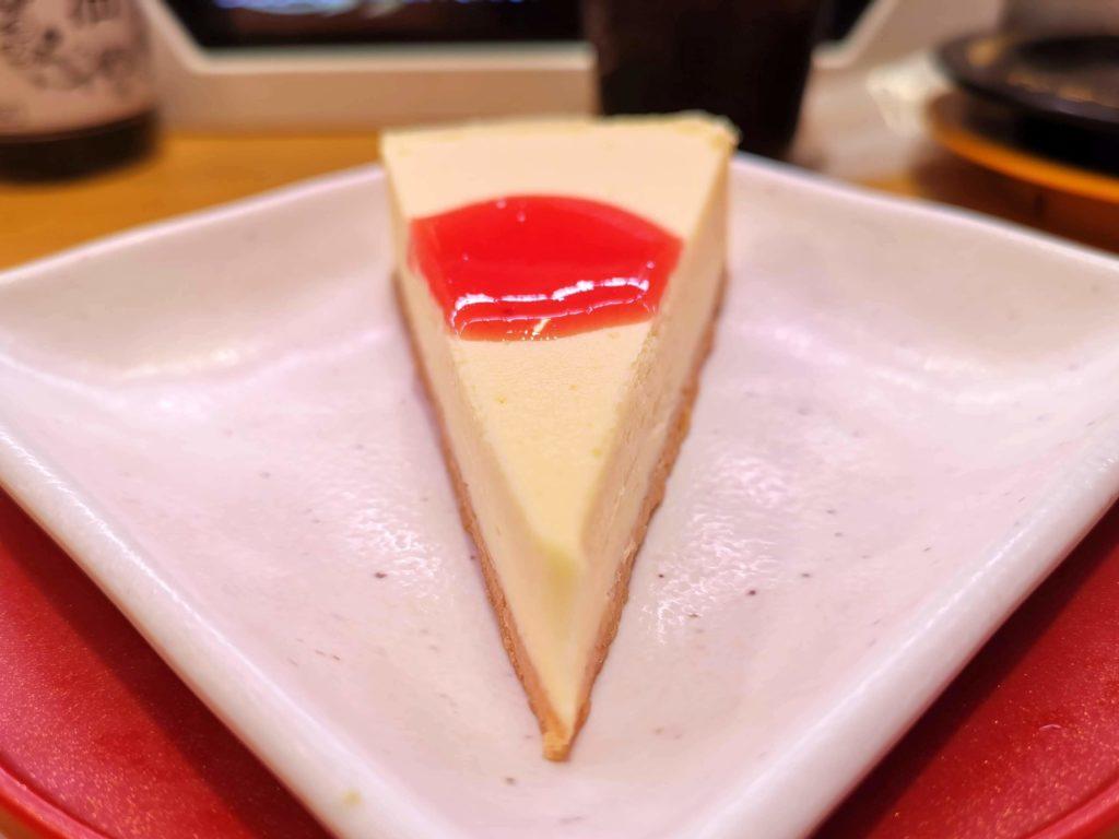 スシロー ニューヨークチーズケーキ (7)