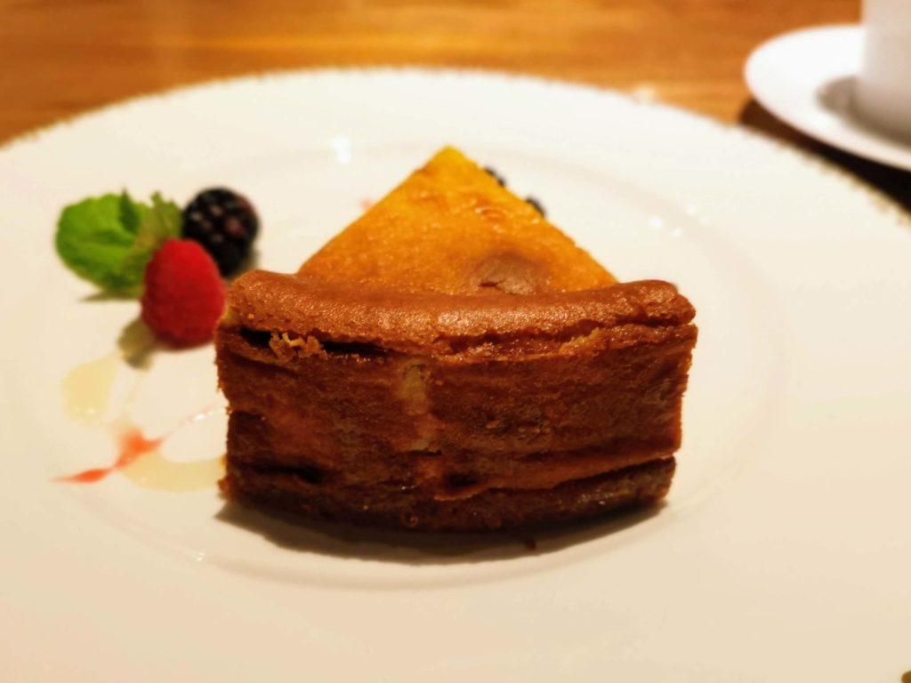 ミタスカフェ 自家製チーズケーキ (3)