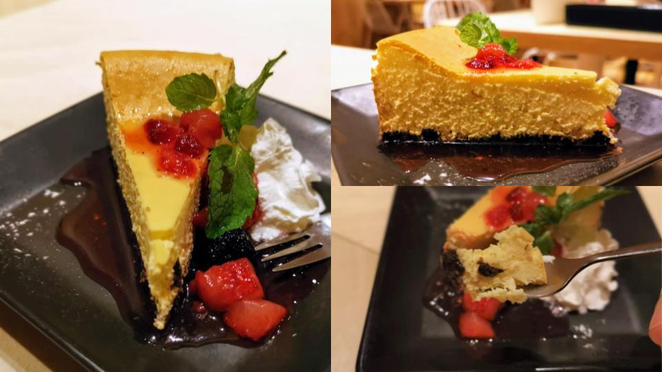 ディキシーダイナー ニューヨークチーズケーキ