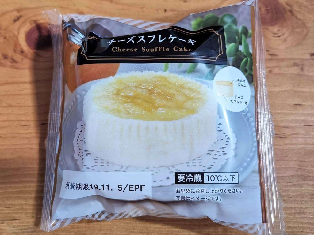 ローソンストア100・オイシス  チーズスフレケーキ (1)