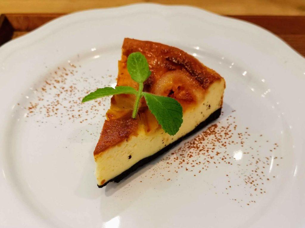 赤坂 ニュージーランドカフェ 自家製ベイクドチーズケーキ (4)