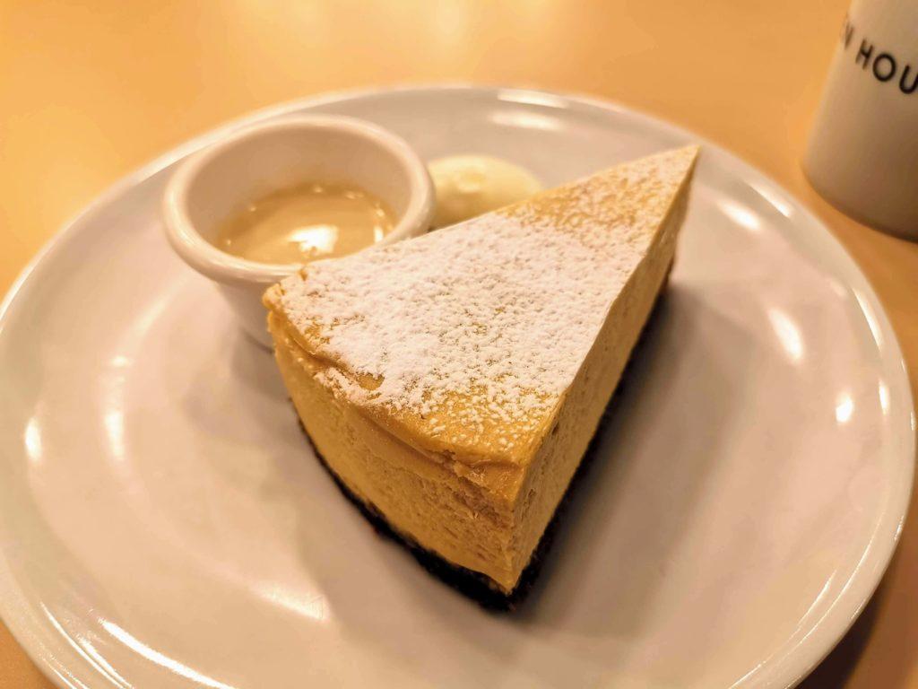 ガーデンハウス新宿 ほうじ茶チーズケーキ