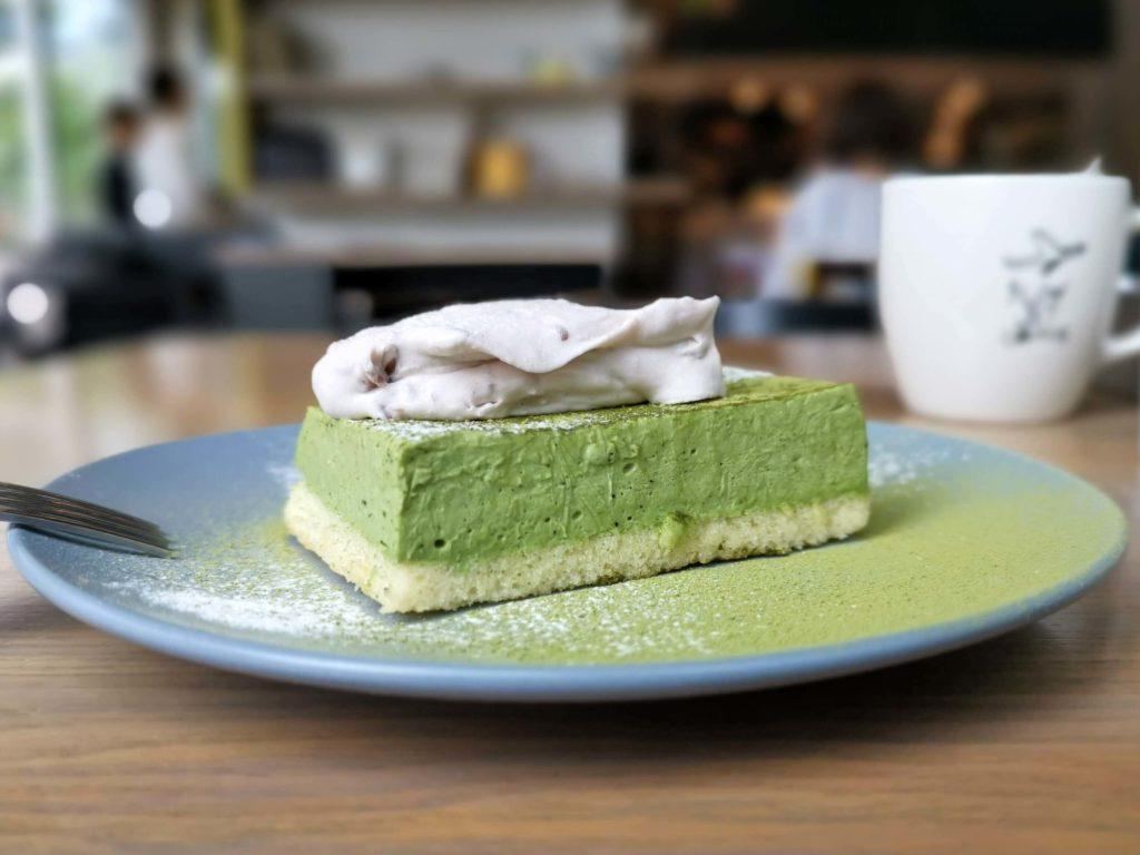 グッドモーニングカフェ 抹茶のチーズケーキ (2)