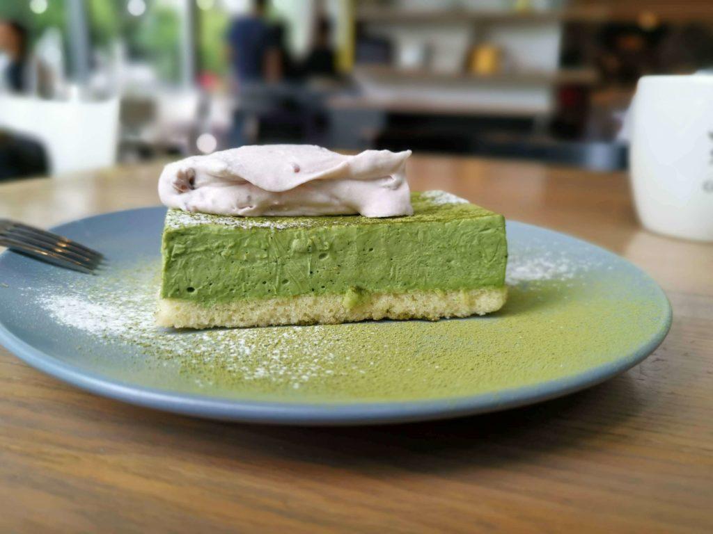 グッドモーニングカフェ 抹茶のチーズケーキ (4)
