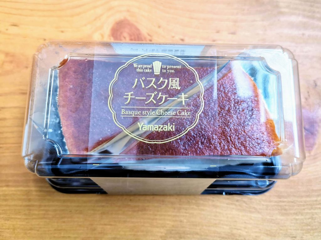 山崎製パン バスク風チーズケーキ (6)