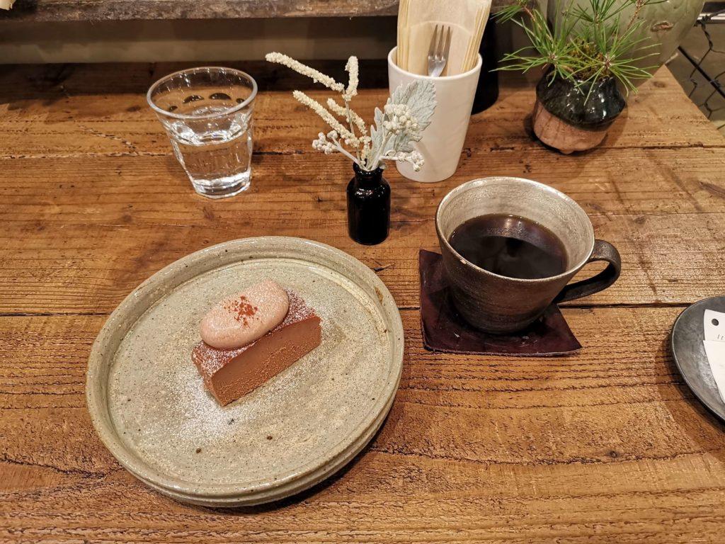 吉祥寺 ヒトクサ チョコレートチーズケーキ (17)