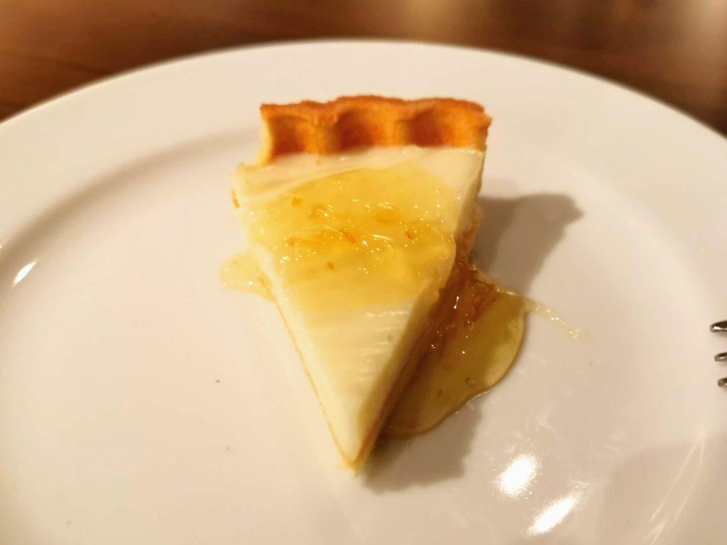 サンマルクレストラン 柚子風味のチーズタルト (1)