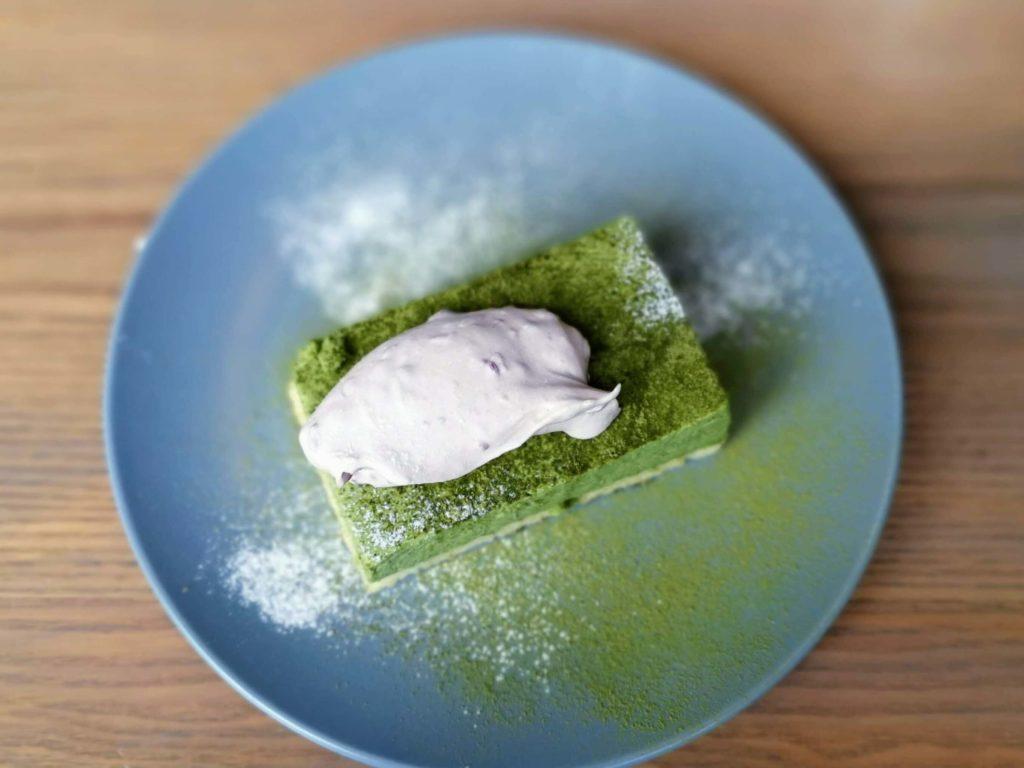 グッドモーニングカフェ 抹茶のチーズケーキ (6)