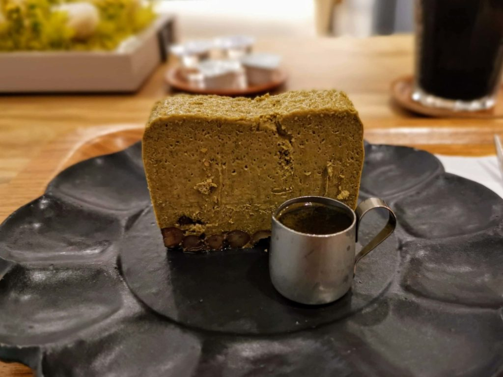 代官山 Assemblage(アッサンブラージュ) ほうじ茶チーズケーキ (9)