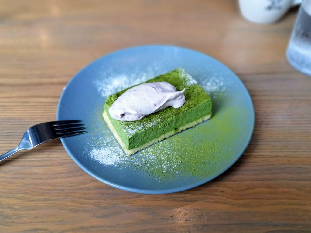 グッドモーニングカフェ 抹茶のチーズケーキ (3)