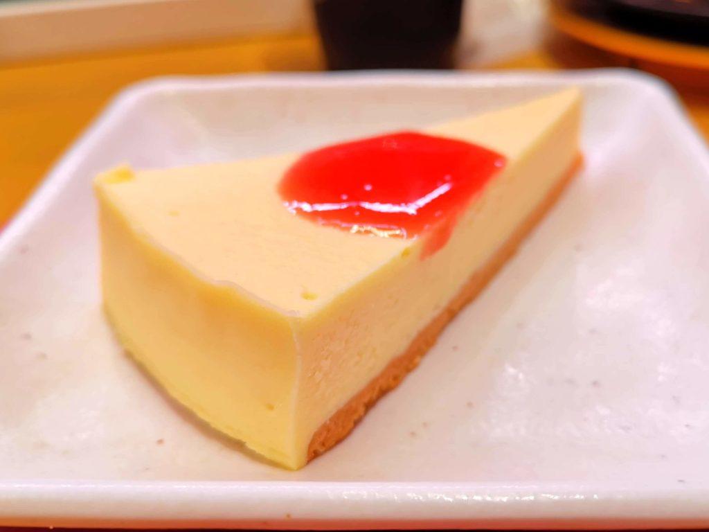 スシロー ニューヨークチーズケーキ (3)