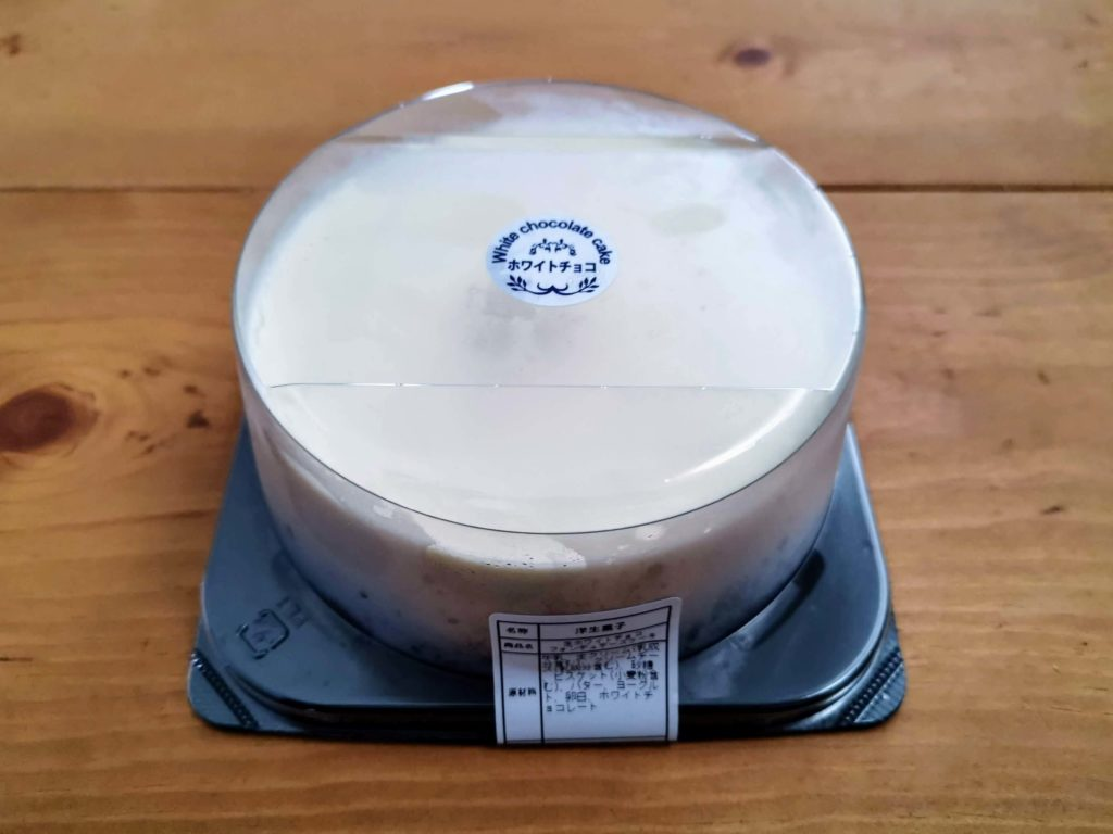 生ホワイトチョコ フォンデュチーズケーキ (2)