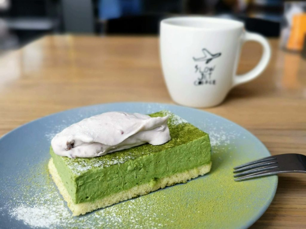 グッドモーニングカフェ 抹茶のチーズケーキ (7)