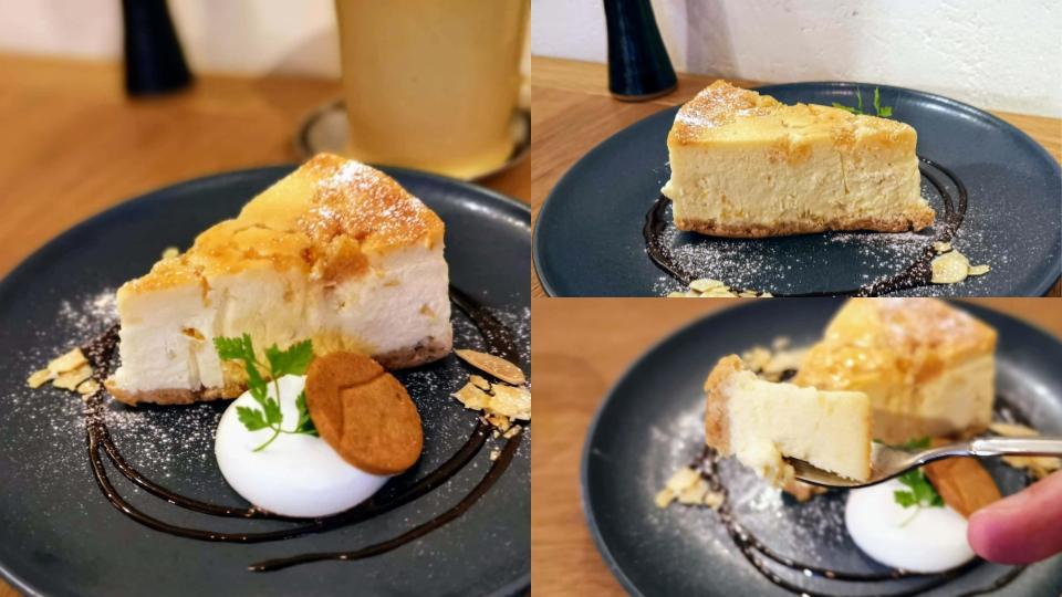 新宿move cafe はちみつレモンのNYチーズケーキ (2)