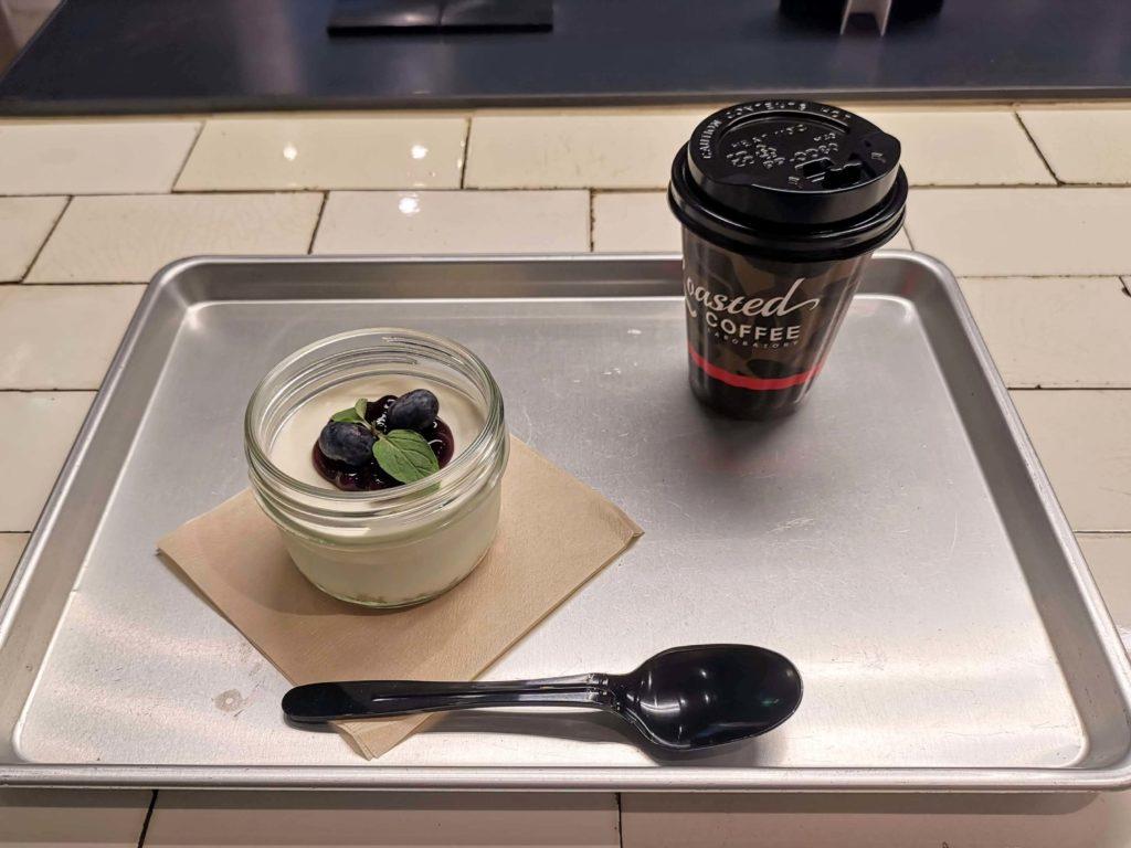 渋谷ローステッドコーヒー ジャーインチーズケーキ (4)