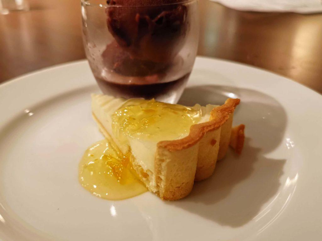 サンマルクレストラン 柚子風味のチーズタルト (7)