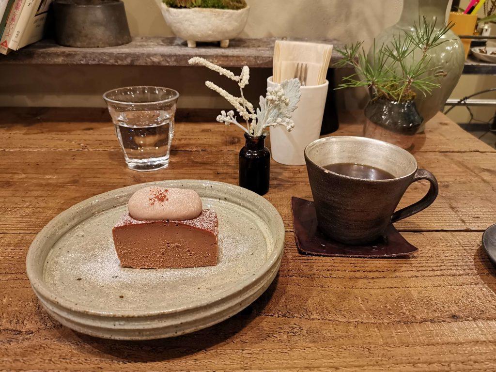 吉祥寺 ヒトクサ チョコレートチーズケーキ (8)