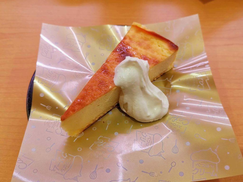 スシロー バスクチーズケーキ (3)
