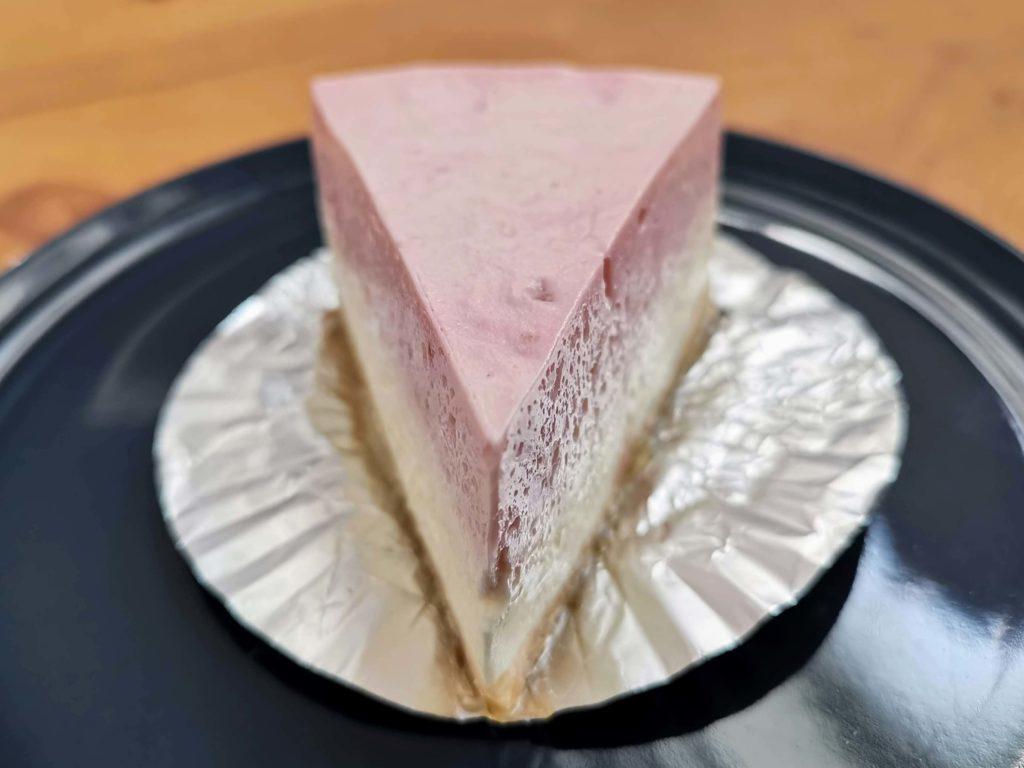 チーズケーキやまぐち ラズベリー(レアチーズケーキ) (4)