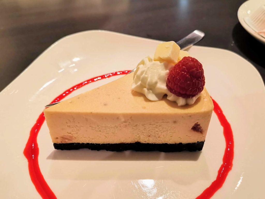 原宿 cafe de 武 (26)ホワイトチョコチーズケーキ