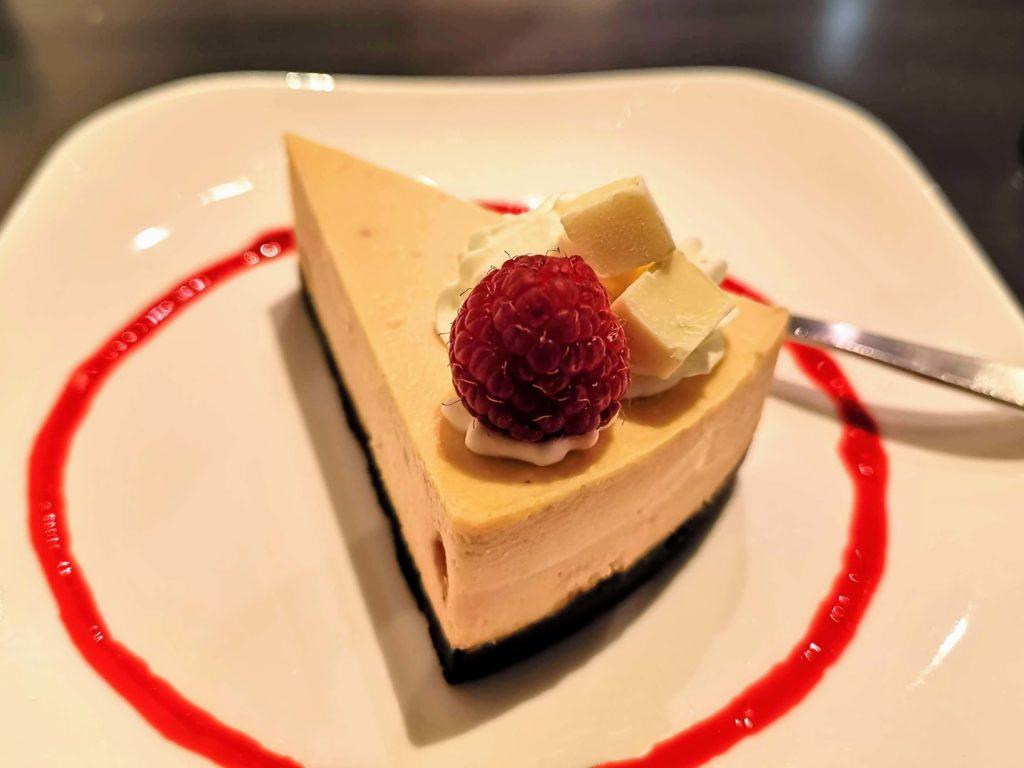 原宿 cafe de 武 (25)ホワイトチョコチーズケーキ