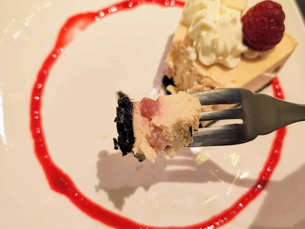 原宿 cafe de 武 (23)ホワイトチョコチーズケーキ