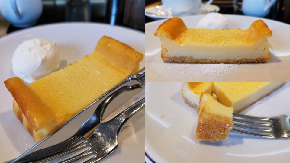 木村屋のチーズケーキ