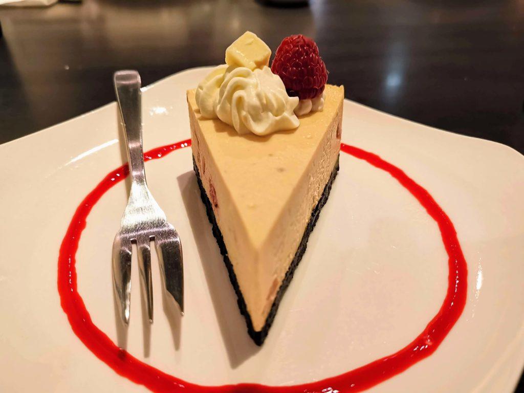 原宿 cafe de 武 (24)ホワイトチョコチーズケーキ