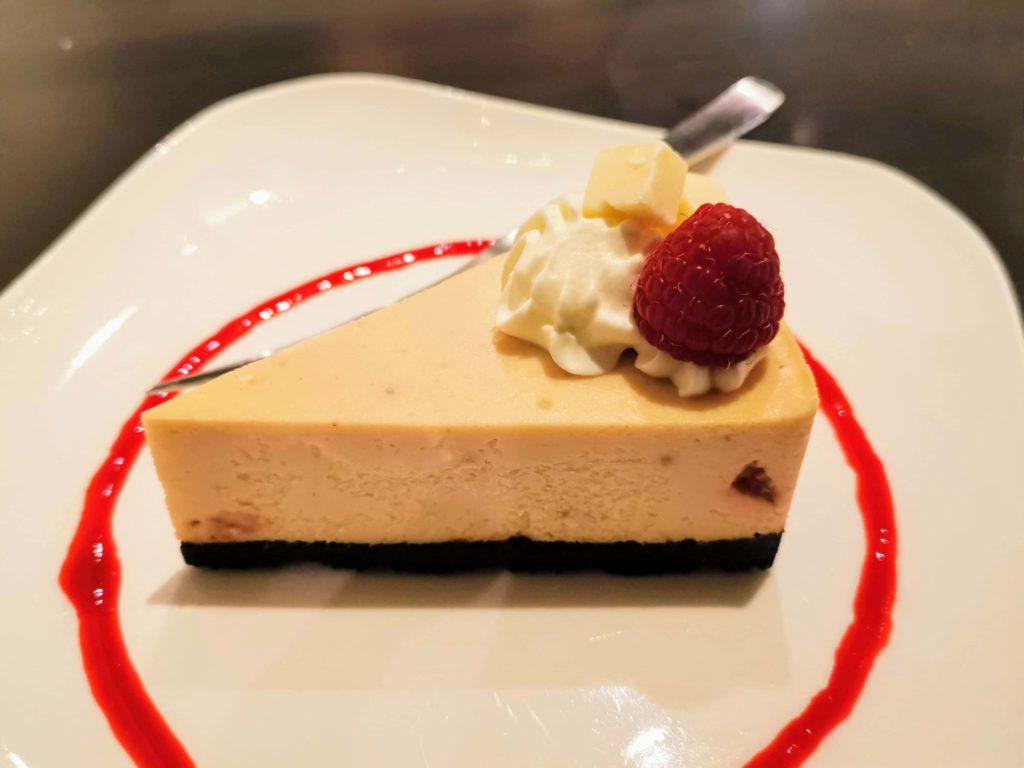 原宿 cafe de 武 (27)ホワイトチョコチーズケーキ