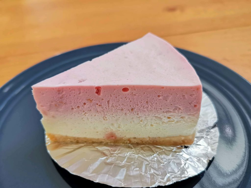 チーズケーキやまぐち ラズベリー(レアチーズケーキ) (3)