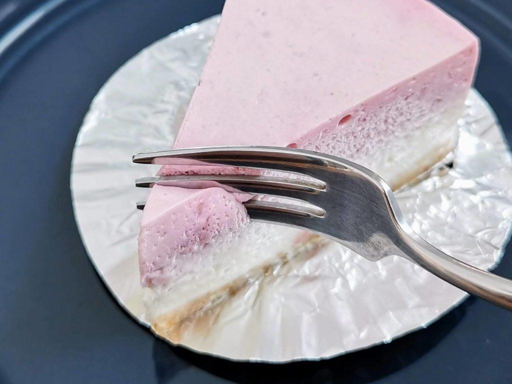 チーズケーキやまぐち ラズベリー(レアチーズケーキ) (8)