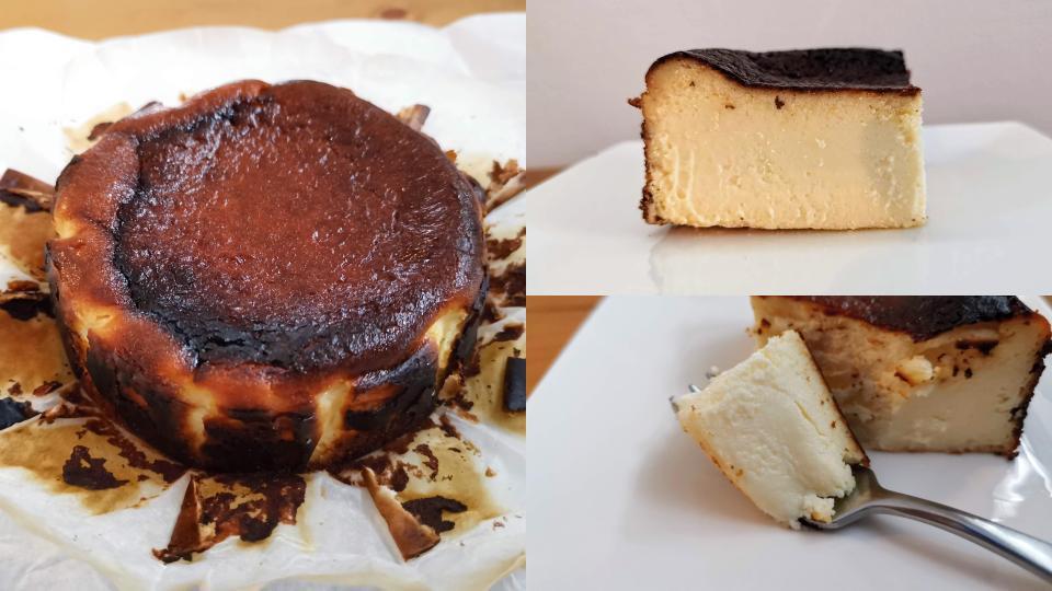 カオリーヌ菓子 バスクチーズケーキ