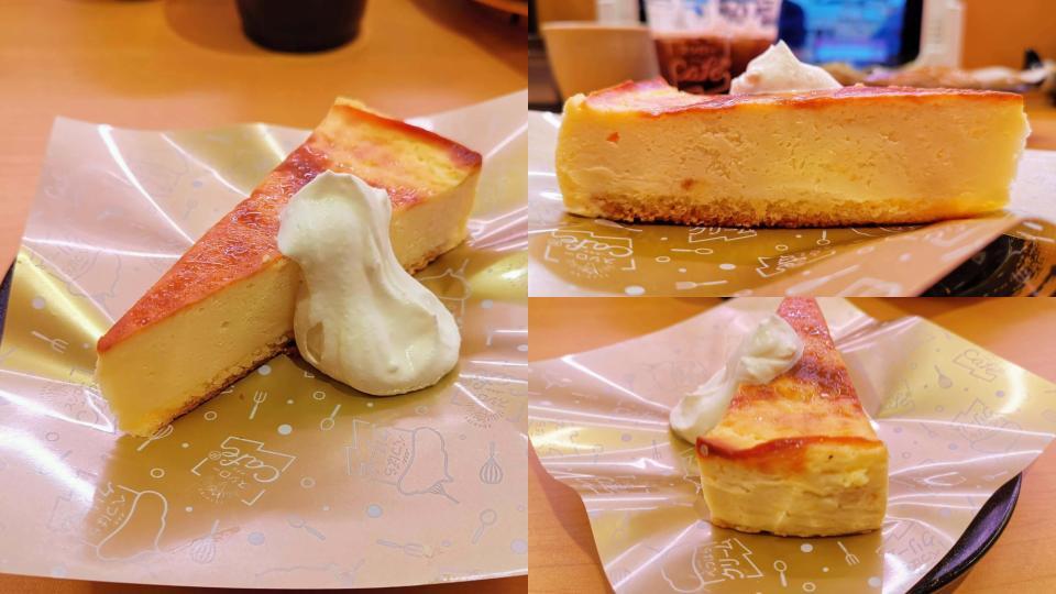 スシロー バスクチーズケーキ