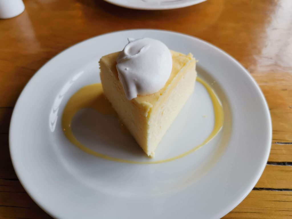 浅草 カフェムルソー ベイクドチーズケーキ (3)