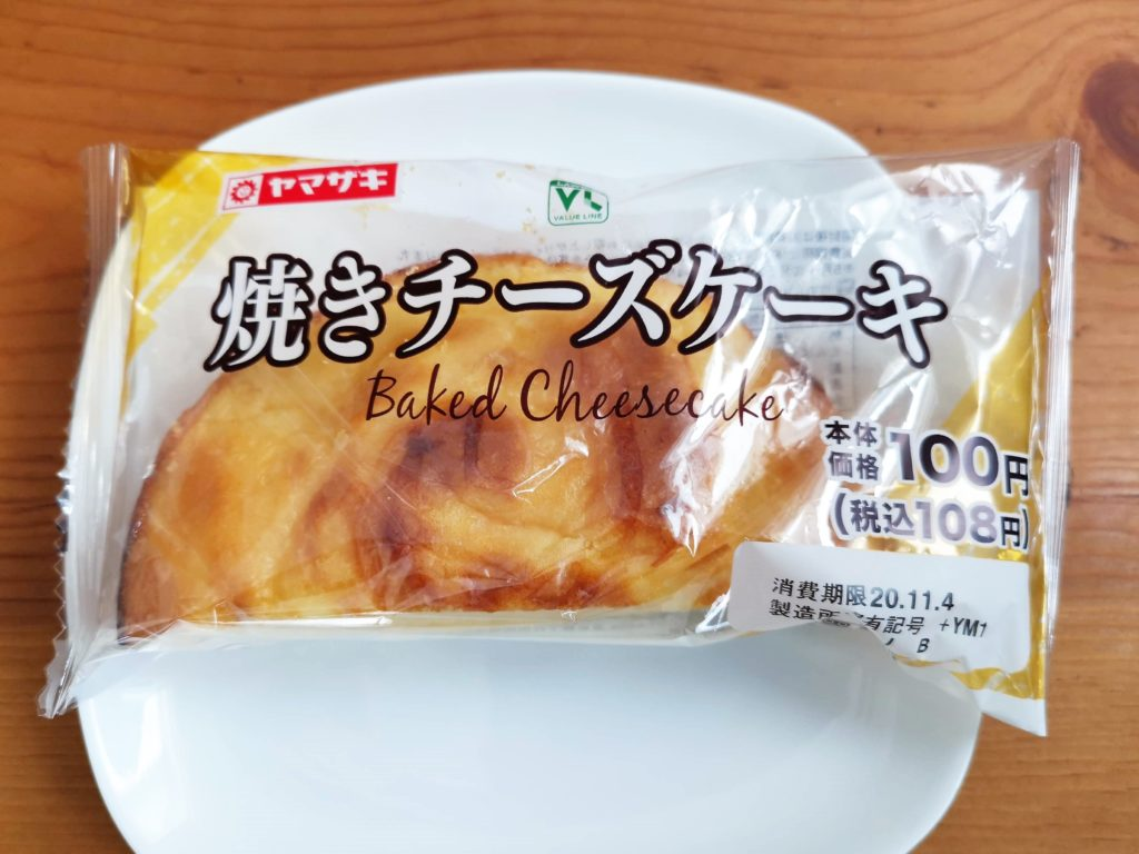 山崎製パン 焼きチーズケーキ (1)