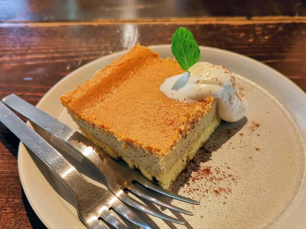 阿波座 Martha daing cafe きなこのチーズケーキ (5)