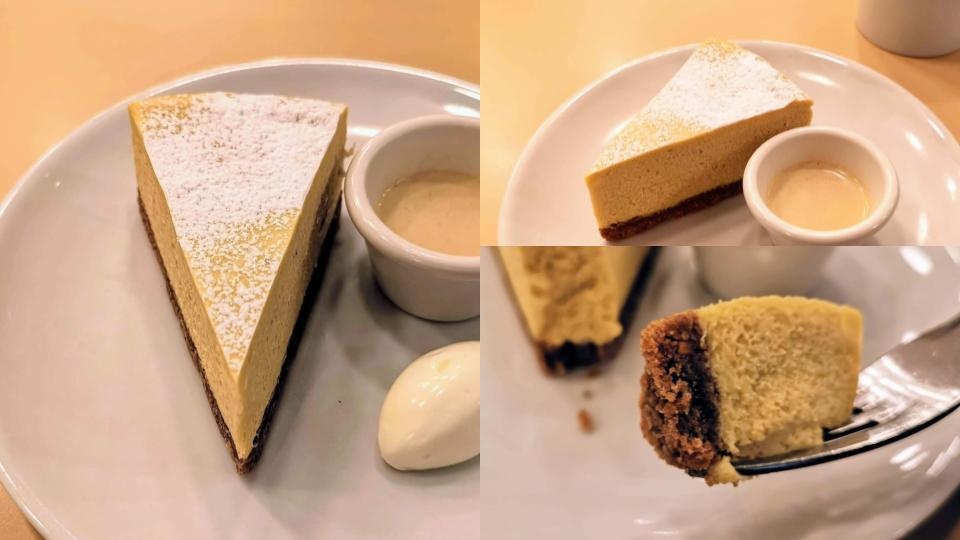 ガーデンハウス新宿 ほうじ茶チーズケーキ (6)