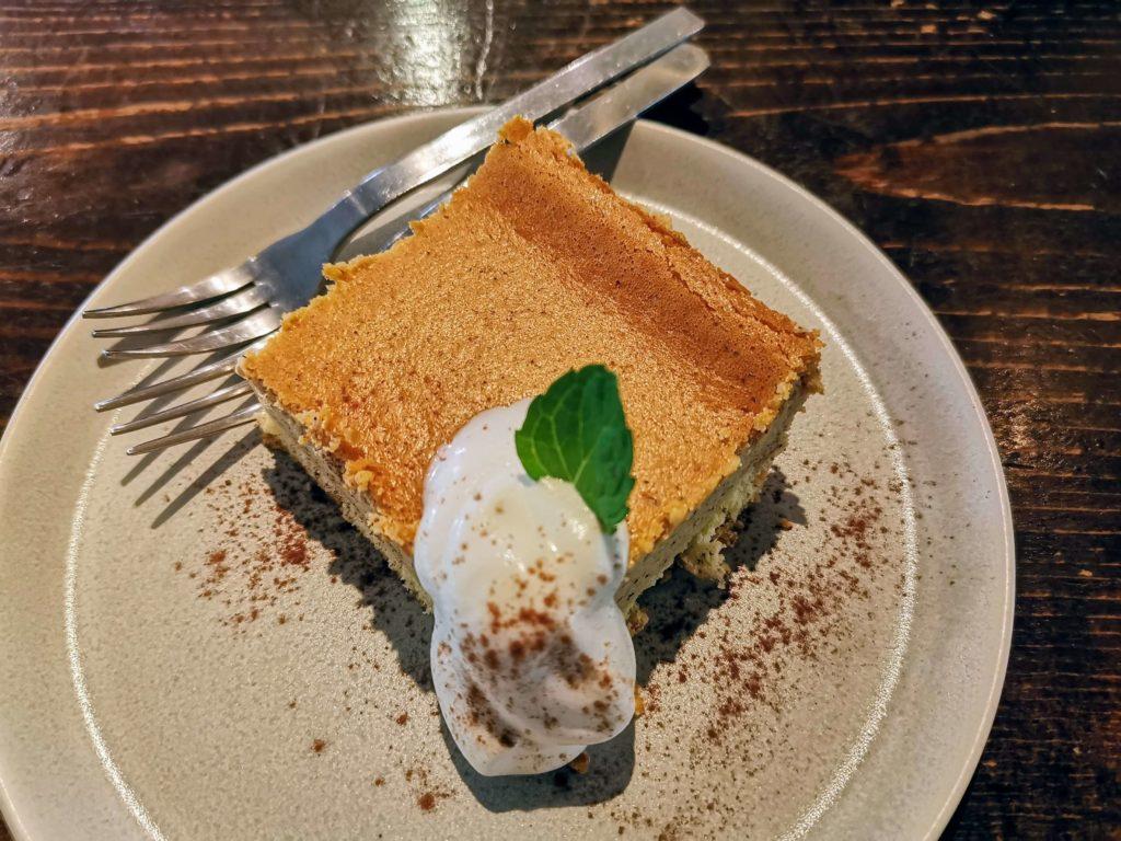 阿波座 Martha daing cafe きなこのチーズケーキ マーサダイニングカフェ
