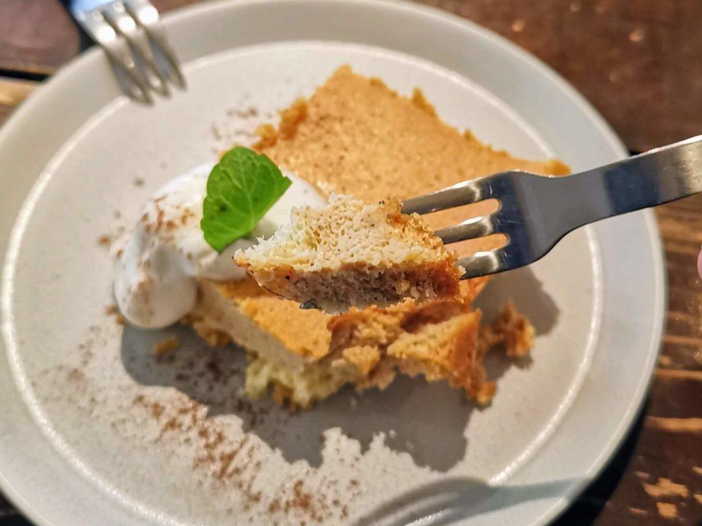 阿波座 Martha daing cafe きなこのチーズケーキ (10)