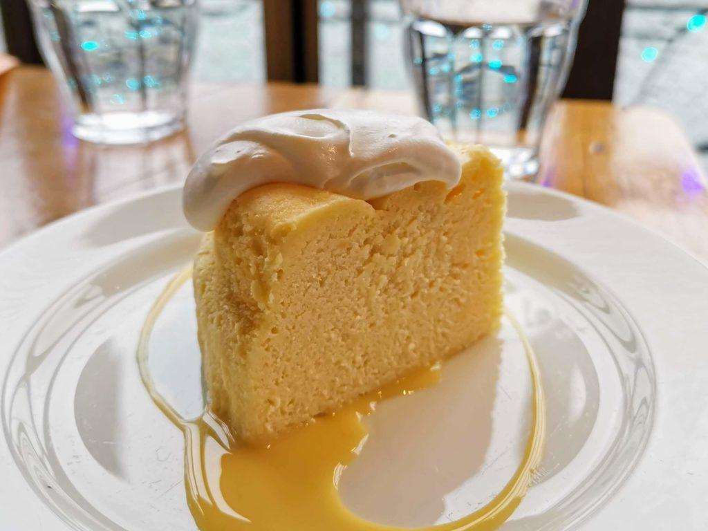 浅草 カフェムルソー ベイクドチーズケーキ (2)
