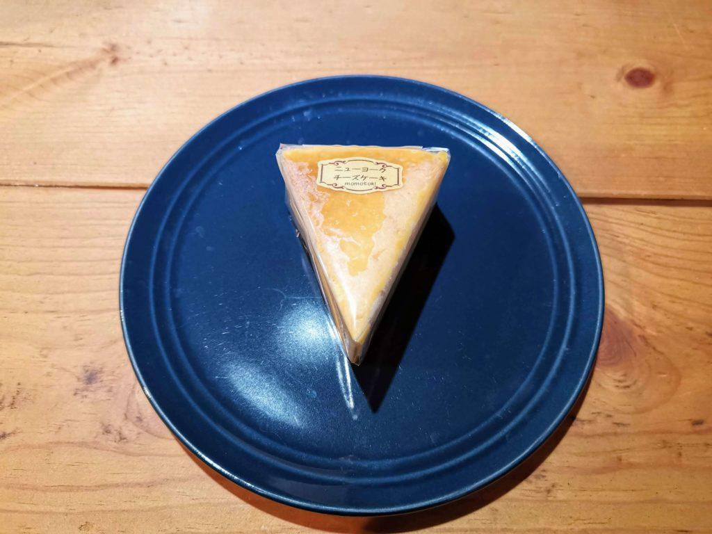 カフェ百時 ニューヨークチーズケーキ (3)